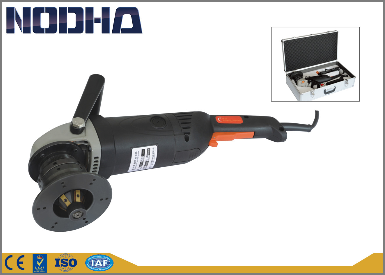 Explosion - Proof Handheld Milling Machine No Vibration 1-10M/Min Feed Speed